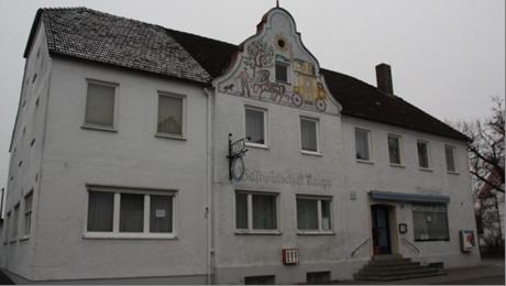 """""""Gastwirtschaft Kaupp"""" in 2016 vor der Renovierung zum Bürgerhaus"""